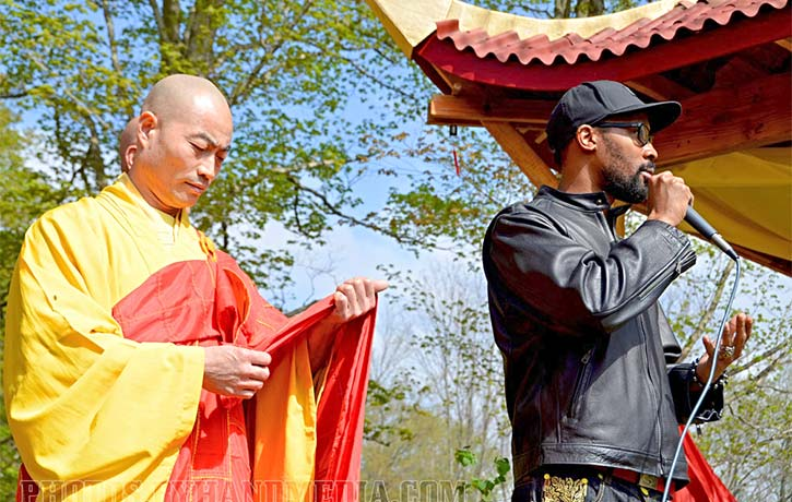 Rza praises kung fu and Shi Yan Ming