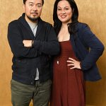 Shannon with Fast and Furious director Justin Lin