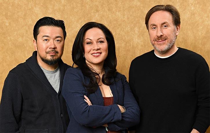 The creative team behind Cinemax's Warrior!