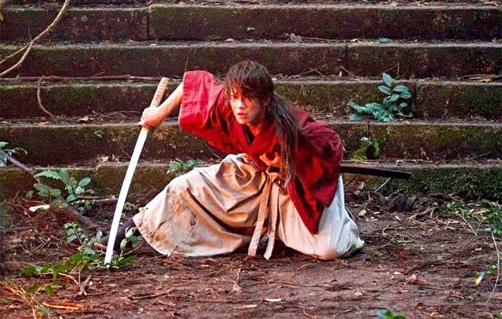 Kenshin digs deep into his samurai spirit
