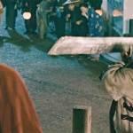 Sanosuke Sagara challenges Kenshin to a duel