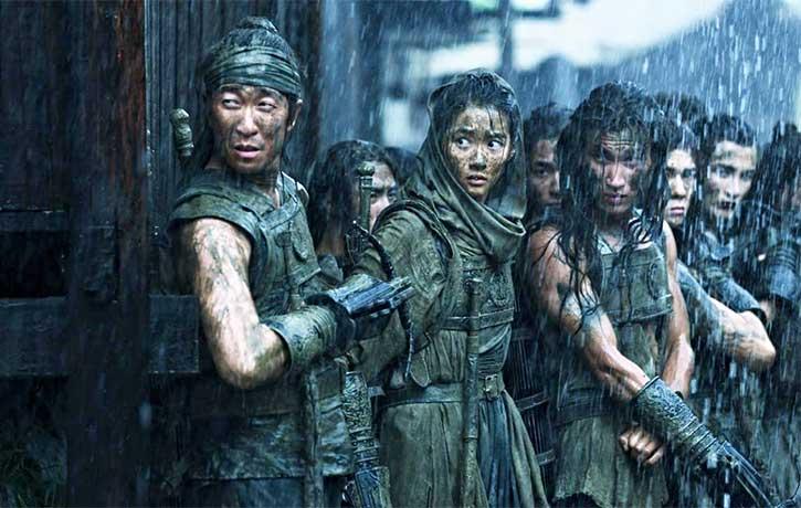 Ziyu's soldiers sneak into Jing City