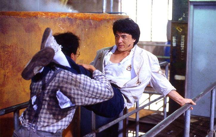 A great onscreen fight with Benny Lai