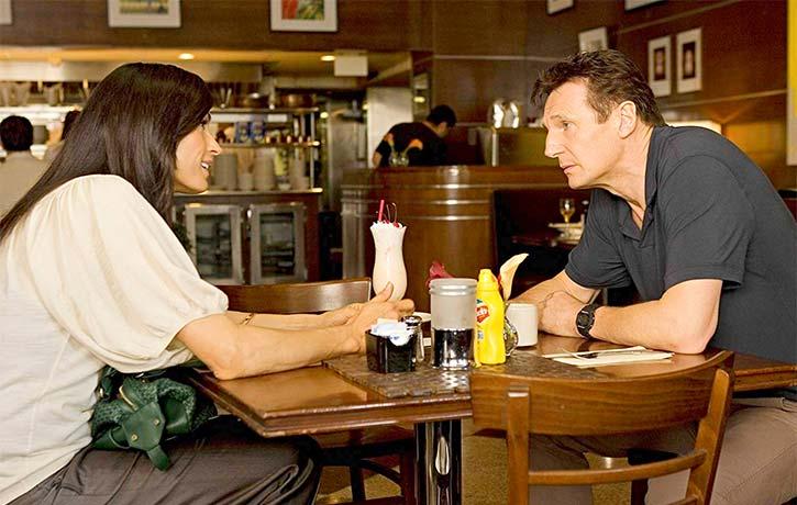 Famke Janssen stars as Bryan's ex-wife Lenore St. John