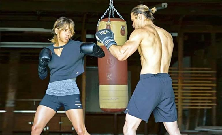 Cameras Roll for Halle Berry MMA Drama: Bruised!