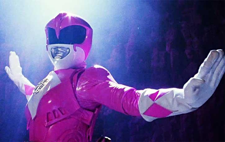 Kimberly Hart the Pink Ranger