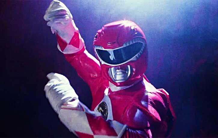 Rocky DeSantos the Red Ranger