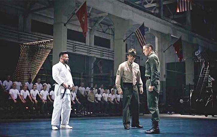 Barton Geddes wants the put the kibosh on this Wing Chun stuff entering the Marine Corps