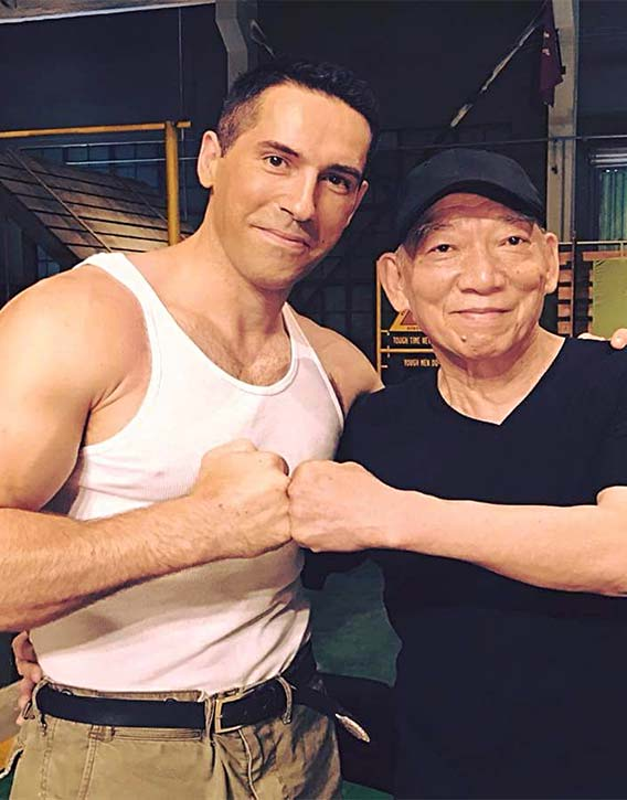 Scott with the legendary Master of action Yuen Woo-ping!