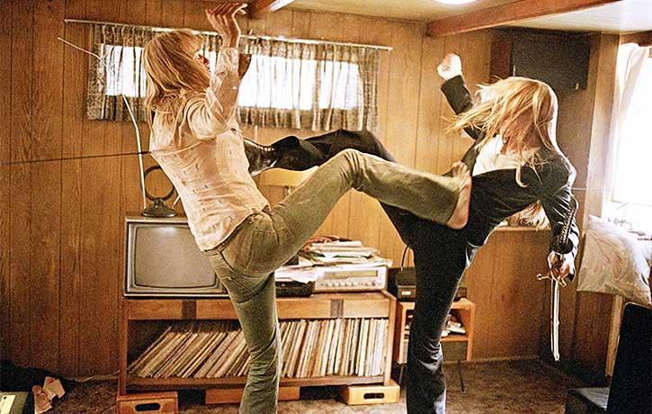 The fight between Uma Thurman and Daryl Hannah won an MTV Movie Award