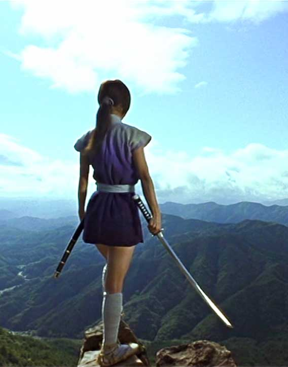 Azumi pondering life beyond the mountains
