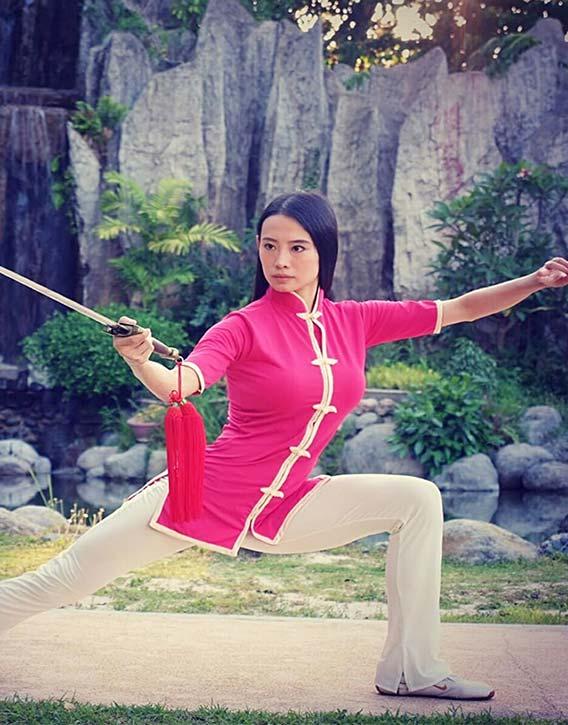 Janice was a Tai Chi World Champion