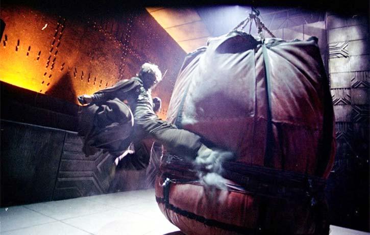 World's largest punching bag!