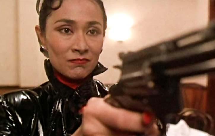 The Japanese Yakuza leader -Lady Tanaka