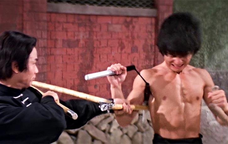 Unusual Weapon combo - nunchaku and tonfa
