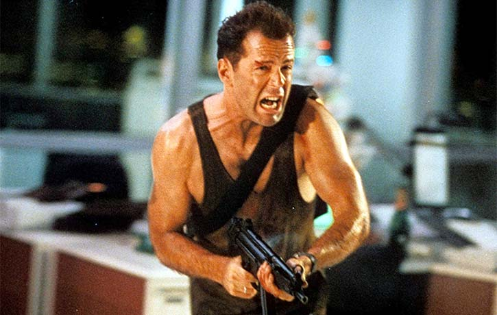 Die Hard is an all time action classic that's looked at