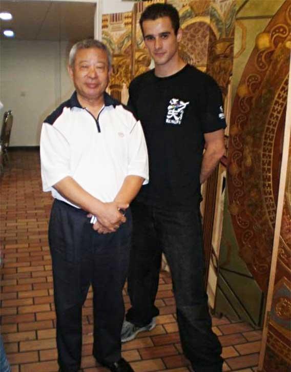 If you ever wondered who trained Jet Li, that's Wu Bin