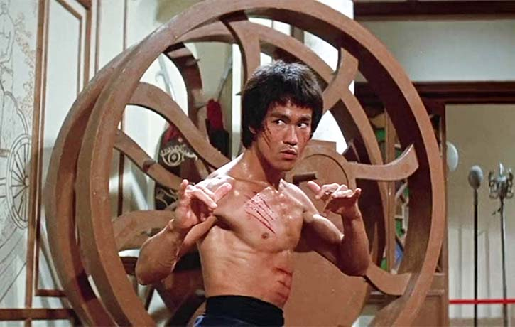 In Search of the Last Action Heroes also notes Bruce Lee