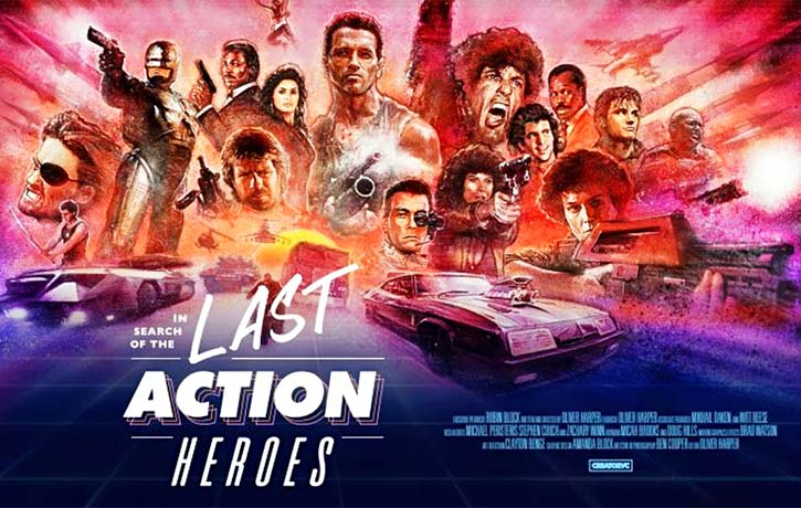 In Search of the Last Action Heroes -film ad