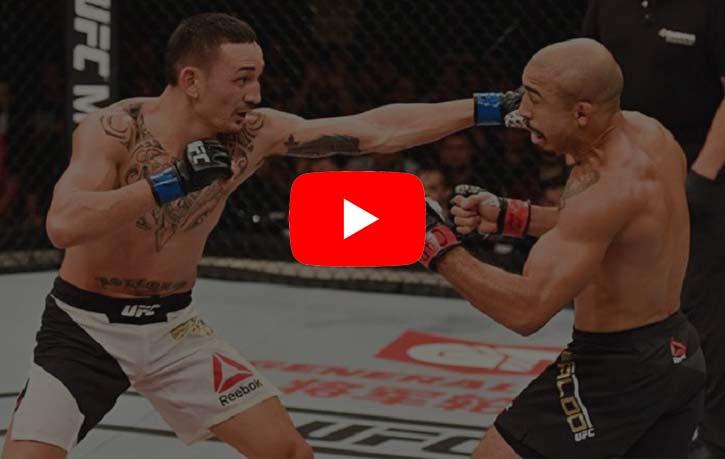 Max Holloway vs JosÇ Aldo 1 - Kung Fu Kingdom