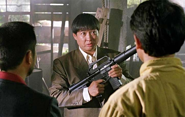 Sammo Hung as a would-be arms dealer called Luke Wong Fei-hung