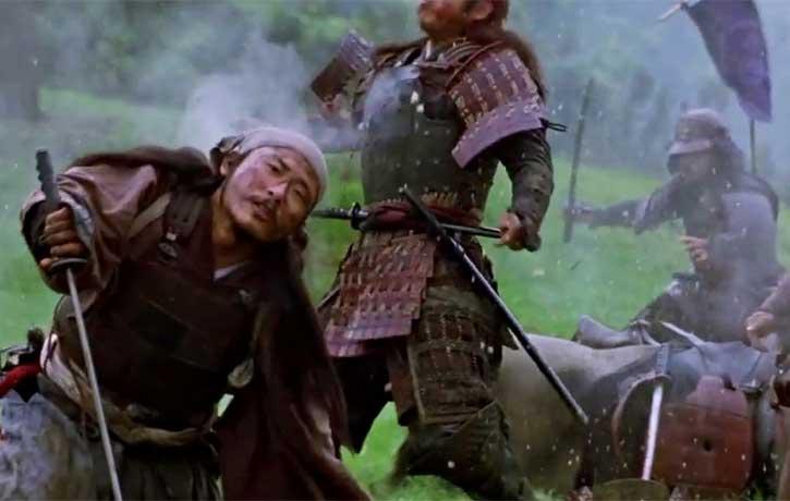 Samurai face their fate