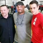 With UFC MMA Champion, Randy 'The Natural' Couture