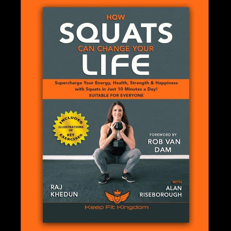 KFK2 Squat Book Cover - Kung Fu Kingdom