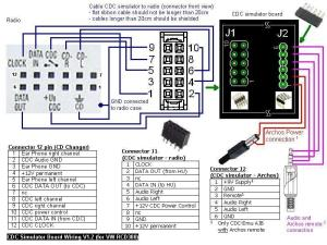 VAG CD Changer Simulator (CDC Emulator) and Remote Control