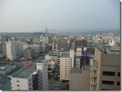 旭川グランドホテル 窓から