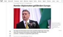 SZ: Nein, es sind Rambos! Tsipras, Orbán - egal, sehen eh alle gleich aus.
