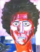 nach Gazbia Sirry, 37 x 46cm, Öl auf Papier, 2007