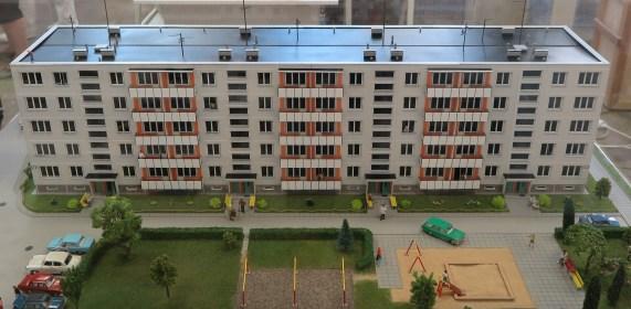 Model van een Russische flat