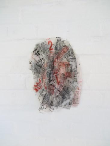 Maria Schilder - kleine sculptuur - chinees papier