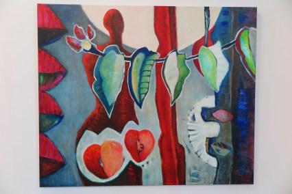 Anke labrie - schilderij - acryl op linnen (Diderot)