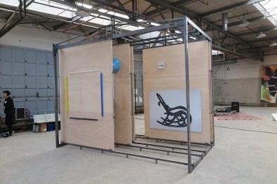 Hester Oerlemans - Moving walls - installatie- 2016