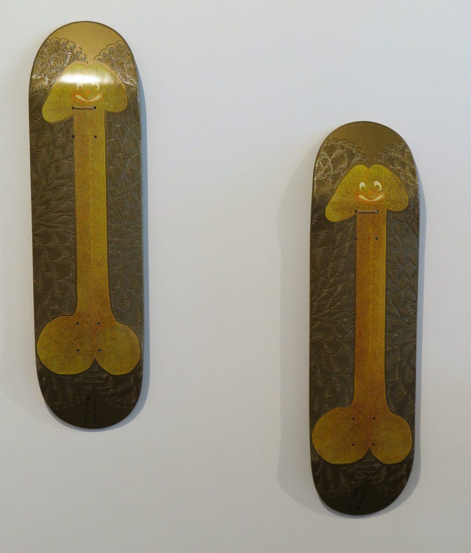 CHRIS OFFILI - Skate deck - 2014
