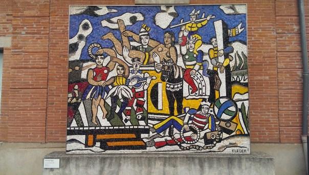 La Grande Parade - Ferdnand Leger - 1953