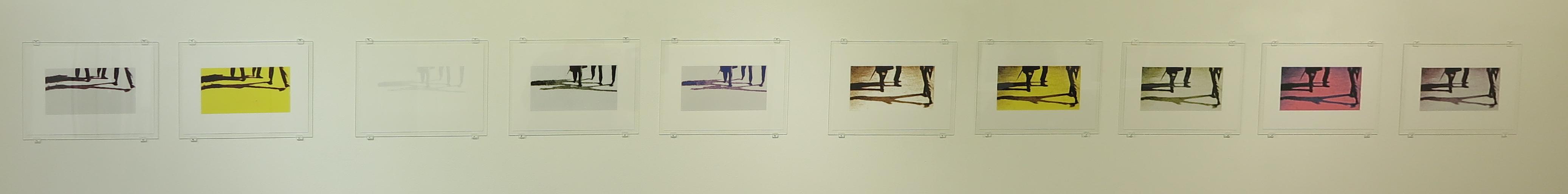 Anna Van Suchtelen - genius loci -serie zeefdrukken