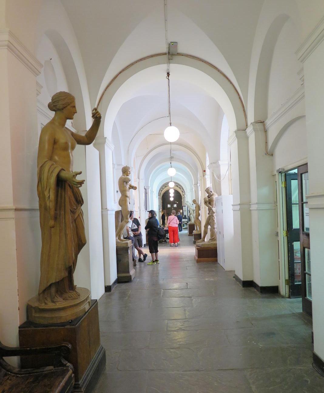 Gang in de Royal Academy Of Arts
