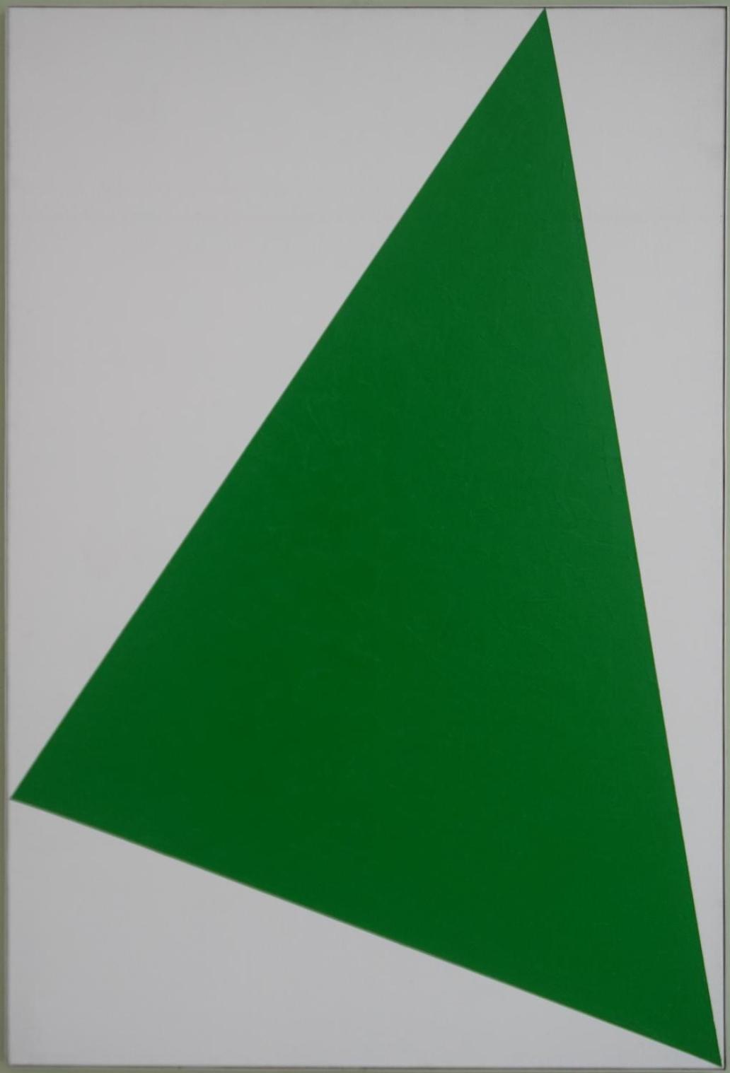Composition, ca. 1972, olieverf op linnen.