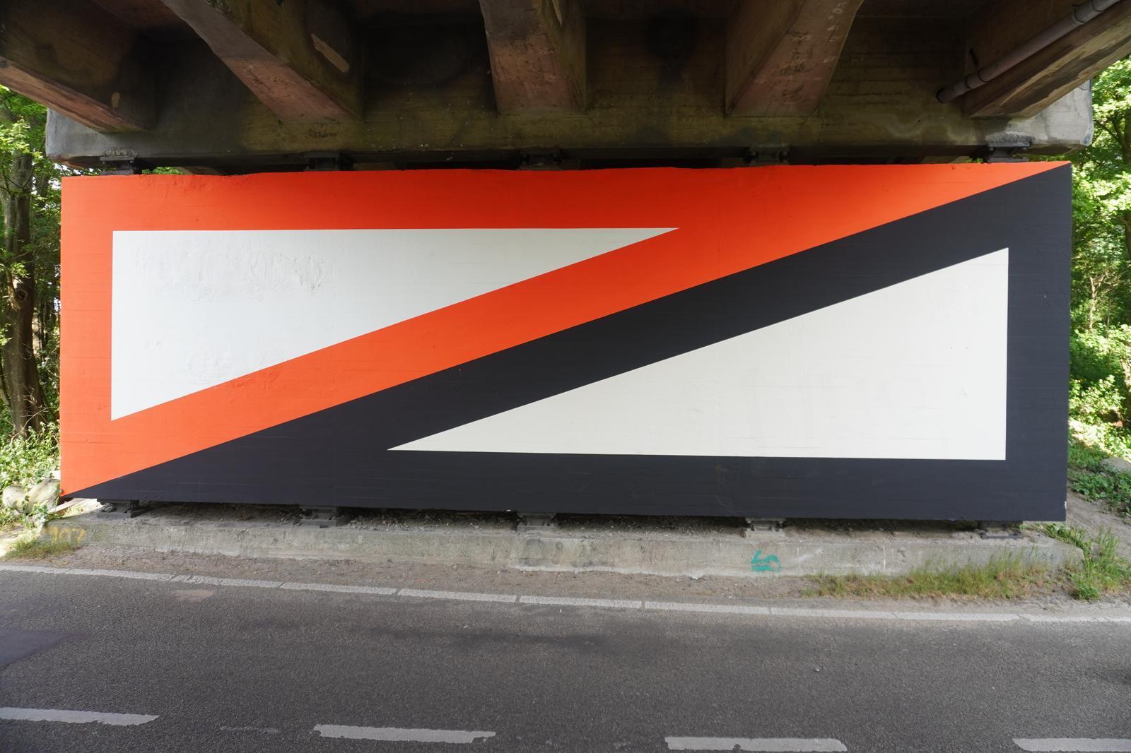 an van der Ploeg - Muurschildering nabij Nieuw & Meer