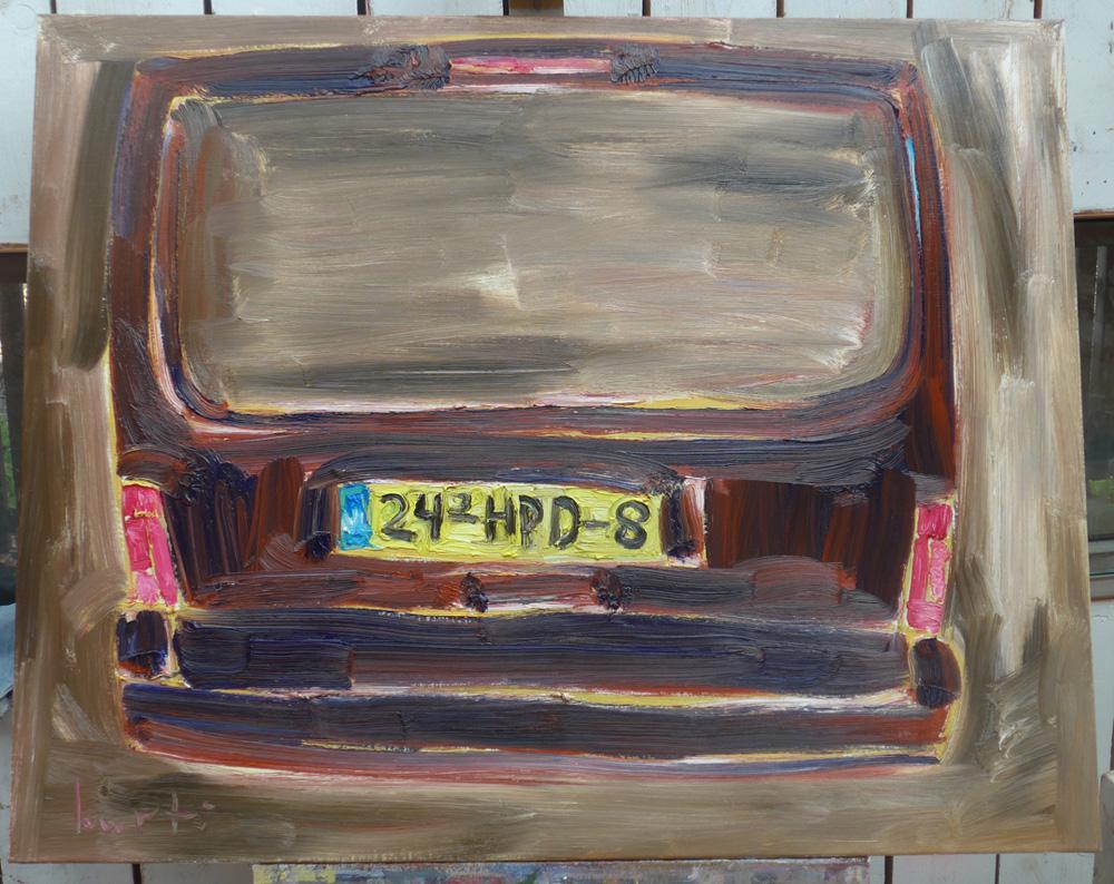 Kurt Ryslavy - de schoonheid van een autoachterwerk... ; galerie:Mieke van Schaijk