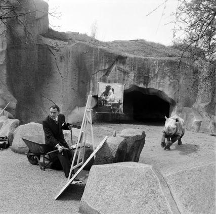 Dali in de dierentuin in Parijs