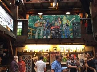 Funpark Triptychon Musikflohmarkt in der Fabrik