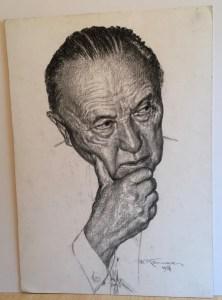 Franz Kienmayer, Zeichnung, 43 x 31 cm
