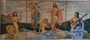 Franz Kienmayer, Aquarell, 30 x 70cm