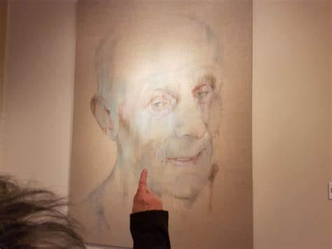 Bezoeker Het Portret van de Nederlandse Portretprijs