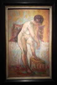 Henri Manquin - Nu á la toilette