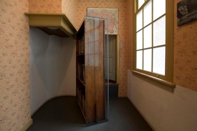 Boekenkast Anne Frank Huis